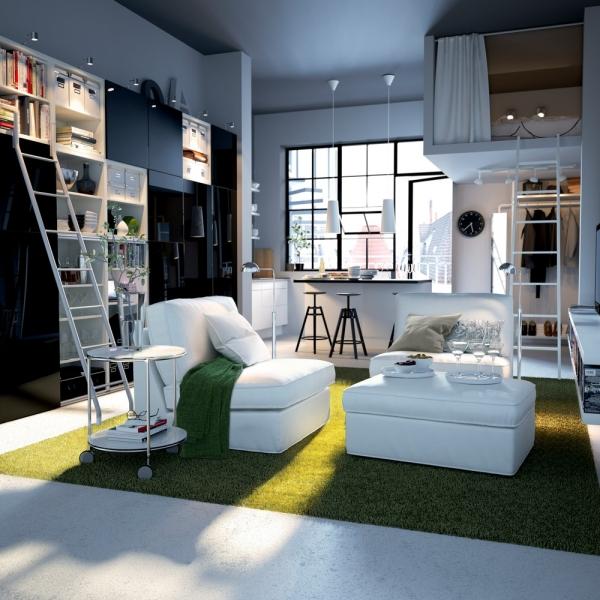 Ikea Einrichten Ideen Modern On Innerhalb Kleine Wohnung Praktische Von IKEA 7