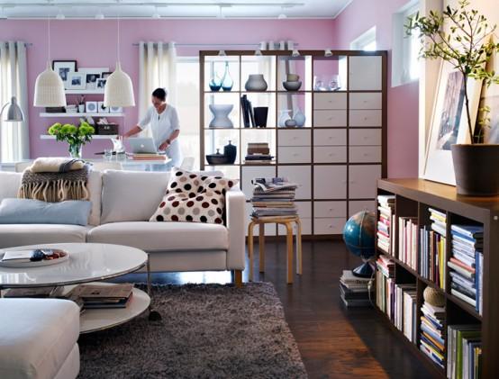 Ikea Ideen Wohnzimmer Fein On In 25 Design Von IKEA 4