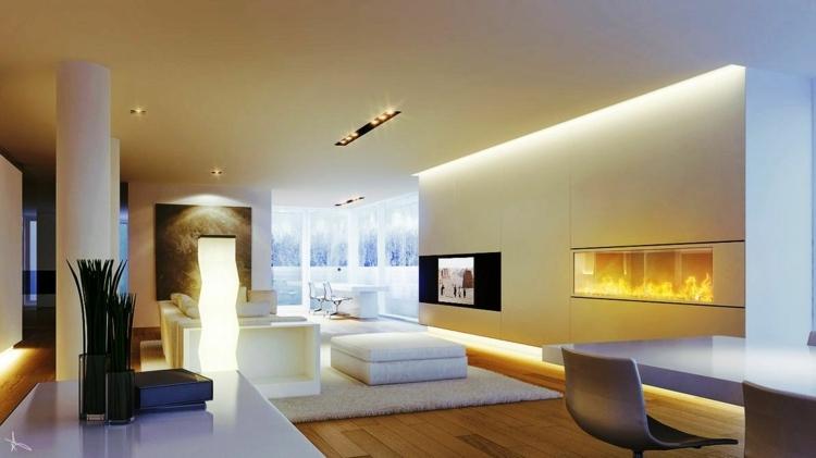 Indirekte Beleuchtung Esszimmer Modern Stilvoll On Beabsichtigt Fesselnd Deckensegel Lisego 1