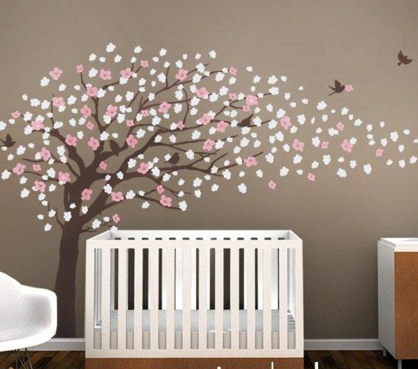 Kinderzimmer Braun Charmant On Auf Kunst Babyzimmer Gestalten Mit Camengo 2