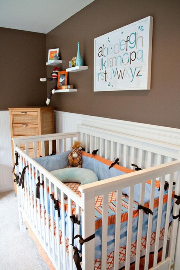 Kinderzimmer Braun Fein On Beabsichtigt Perfekt Wandfarbe Brauntöne 11 Amocasio Com 6