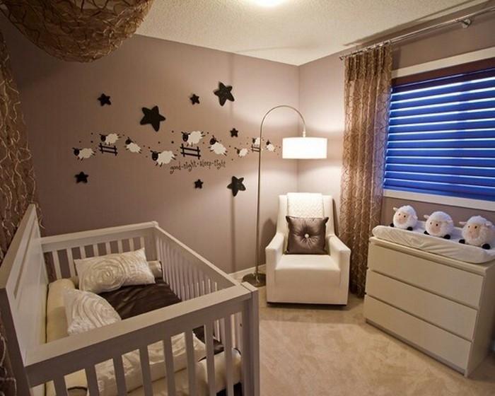 Kinderzimmer Braun