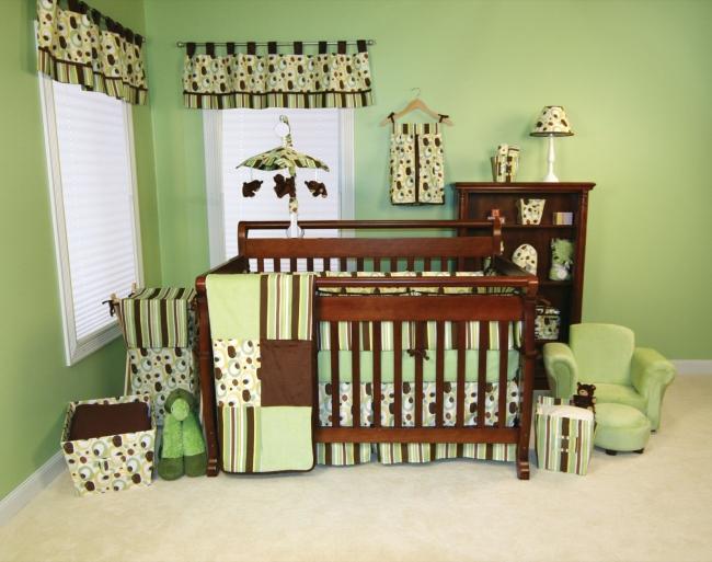 Kinderzimmer Braun Grün Zeitgenössisch On Auf Wohnideen Für Babyzimmer Die Besten Interieur Designs 5