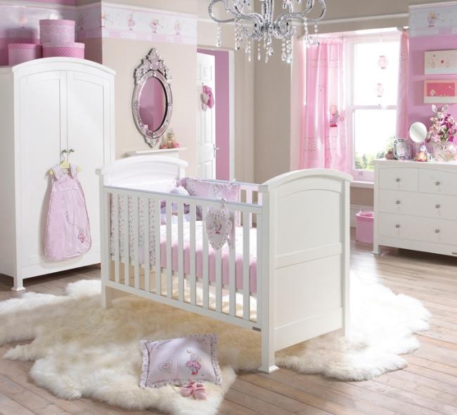 Kinderzimmer In Beige Rosa Exquisit On Auf Wohnideen Für Babyzimmer Die Besten Interieur Designs 4