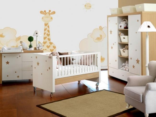 Kinderzimmer In Beige Rosa Imposing On Auf Wohnideen Für Babyzimmer Die Besten Interieur Designs 9