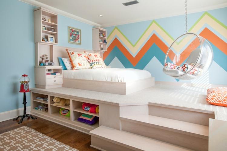 Kinderzimmer Streichen Ideen Schön On Mit Und Tipps Zur Farbenwahl 7