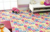 Kinderzimmer Teppichboden