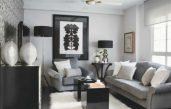 Klein Wohnzimmer Einrichten Brauntöne