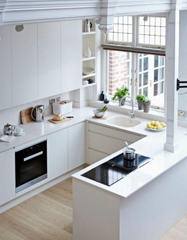 Kleine Küchen Ideen Bemerkenswert On Mit Die Besten 25 Küche Auf Pinterest Platzsparende 9