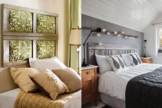 Kopfteil Bett Ideen Einfach On Beabsichtigt 50 Schlafzimmer Für Selber Machen FresHouse 4