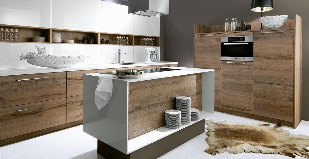 Küche Aus Eiche Modern Charmant On In Bezug Auf Kuche Www Sieuthigoi Com 4