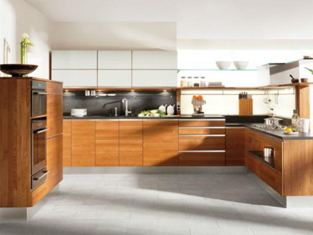 Küche Aus Eiche Modern