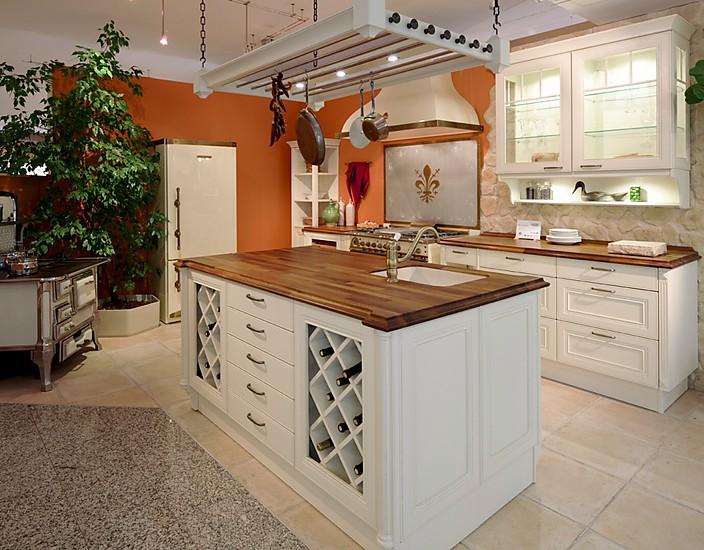 Küche Mit Kochinsel Landhaus