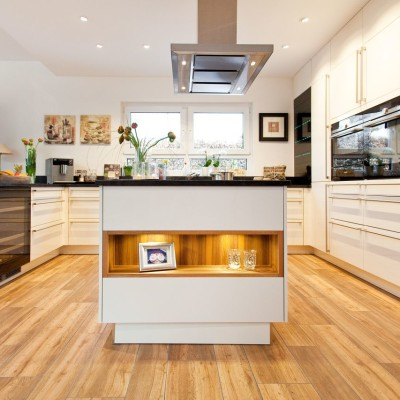 Küche Mit Kochinsel Landhaus Fein On Andere Auf Ttci Info 4
