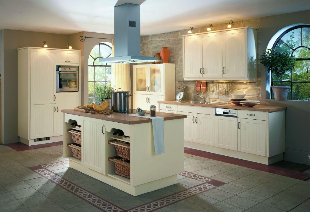 Küche Mit Kochinsel Landhaus Fein On Andere Und Tisch Kuchen Home Küchen 2