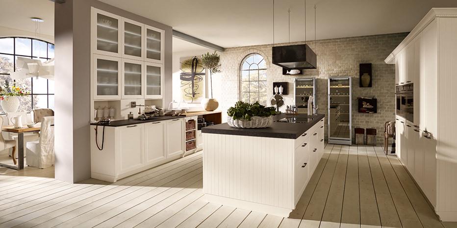 Küche Mit Kochinsel Landhaus Modern On Andere Und Kuche Eyesopen Co 7