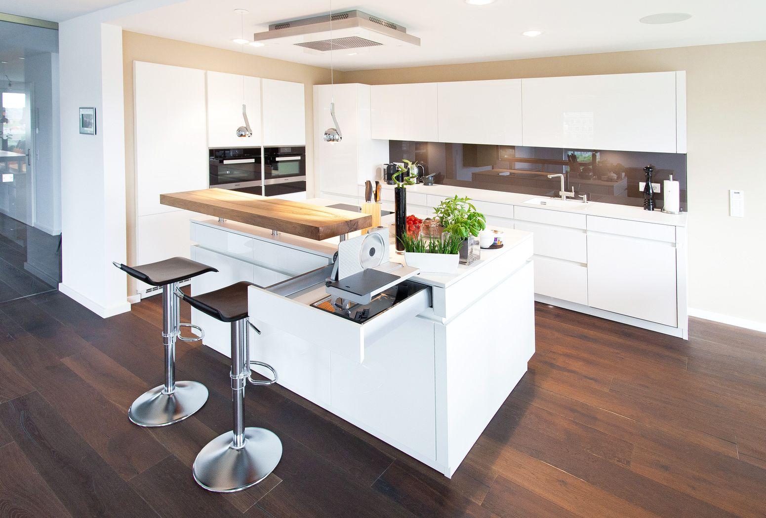 Küche Mit Kochinsel Mit Theke
