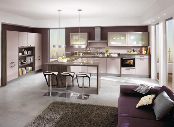 Küche Und Wohnzimmer In Einem Raum Modern Glänzend On Auf Kuche Www Sieuthigoi Com 3