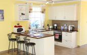 Küche Wohnzimmer Offen Klein