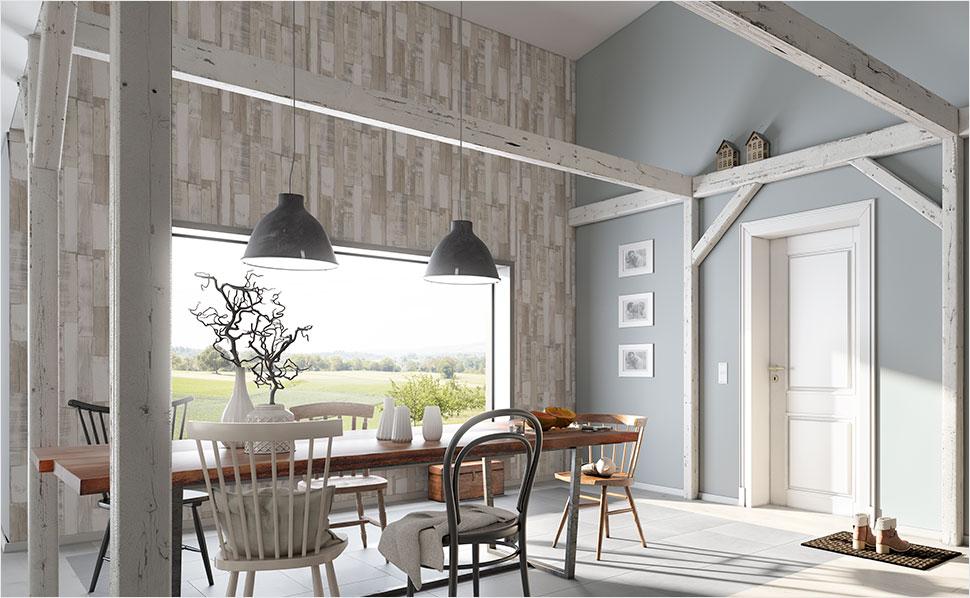 Küchen Tapeten Modern Bemerkenswert On Mit Für Küche Und Esszimmer Bei HORNBACH 2