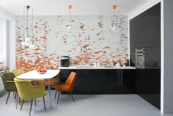 Küchen Tapeten Modern Exquisit On Innerhalb Fuer Kueche Design 6