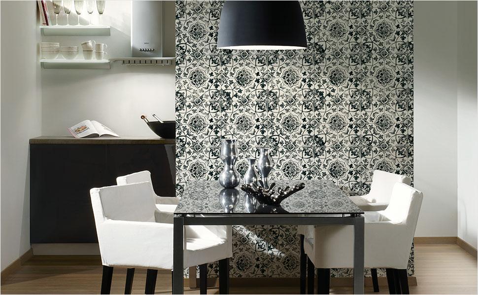 Küchen Tapeten Modern Herrlich On Mit Awesome Für Contemporary House Design Ideas 4