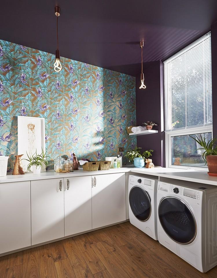 Küchen Tapeten Modern On In Schöne Küchentapeten Ideen Für Jeden Einrichtungsstil 30 8