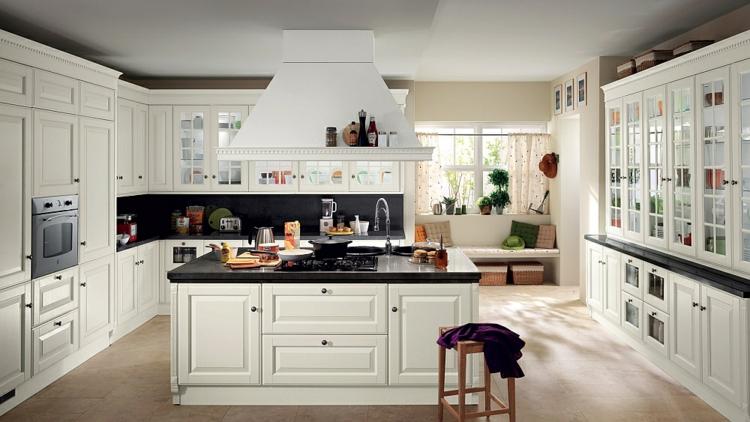 Landhausküche Weiß Perfekt On Andere Mit Italienische Landhausküchen 20 Charmante Gestaltungen 7