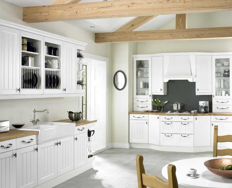 Landhausküche Weiß Zeitgenössisch On Andere überall Landhausküchen Die Populärste Art Im Küche Dekorieren 9