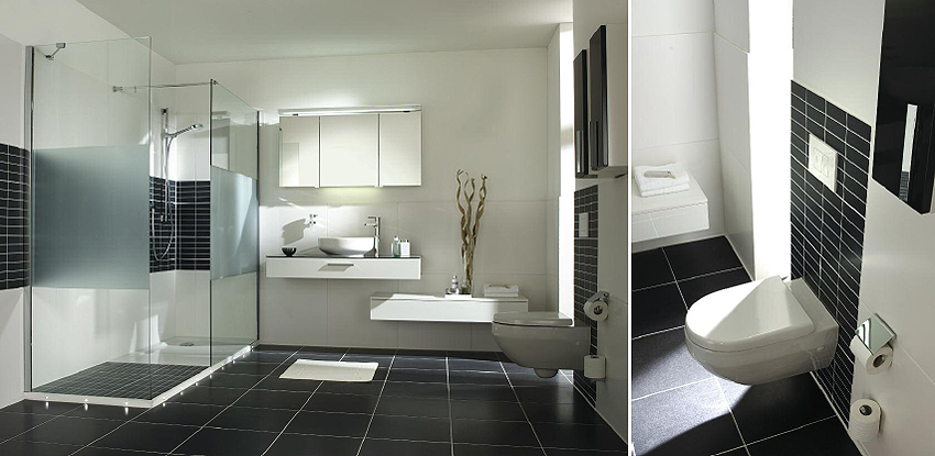 Luxus Badezimmer Grau Beeindruckend On Beabsichtigt Modern Govconip Com 8
