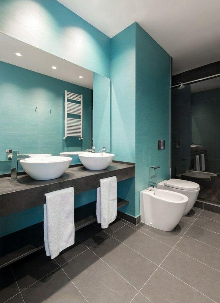 Luxus Badezimmer Grau Bemerkenswert On überall Die Besten 25 Blau Ideen Auf Pinterest Badideen 6