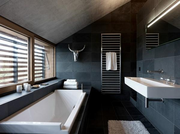 Luxus Badezimmer Grau Einfach On Beabsichtigt Cabiralan Com 1