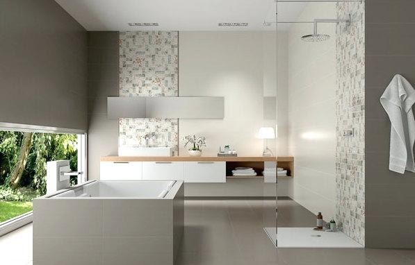 Luxus Badezimmer Grau Fein On Beabsichtigt Modernes Ideen 15 Moderne Faa 1 4 R 9