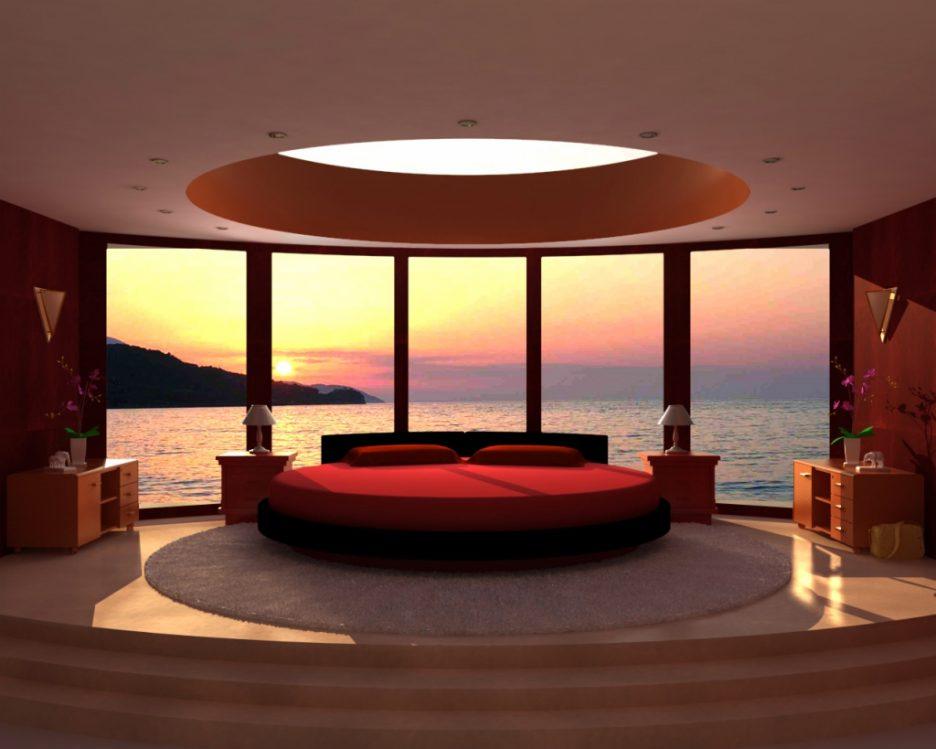 Luxus Schlafzimmer Rot Charmant On Für Innenarchitektur Kleines Grau 9