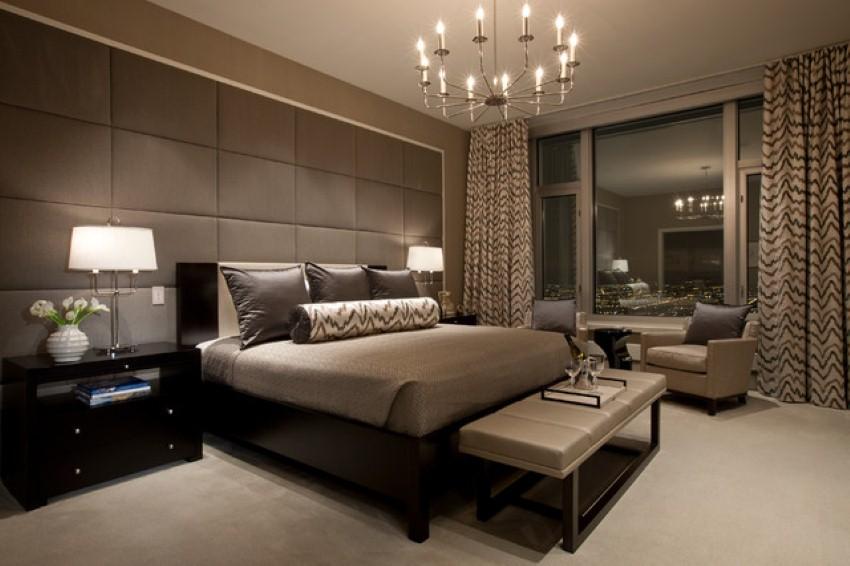 Luxus Schlafzimmer Wände Ausgezeichnet On In Bezug Auf Farbe Taupe Elegante Wandfarbe FresHouse 9