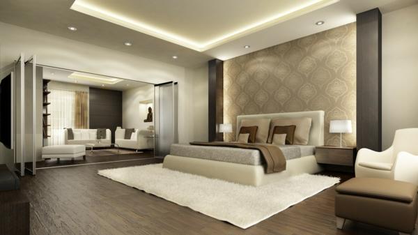 Luxus Schlafzimmer Wände Einfach On Für 32 Ideen Zur Inspiration Archzine Net 1
