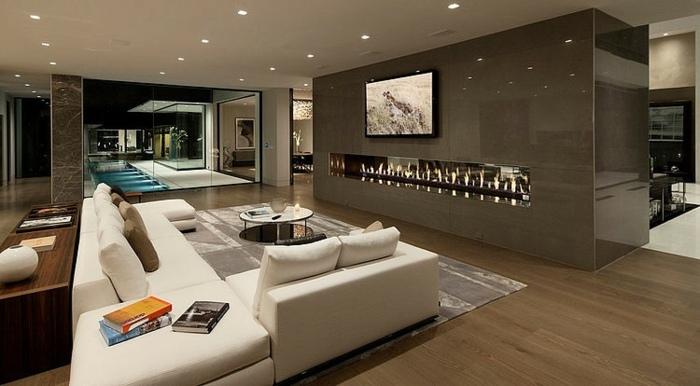 Luxus Wohnzimmer Wunderbar On In Bezug Auf Verstärkung Modern Mit 4