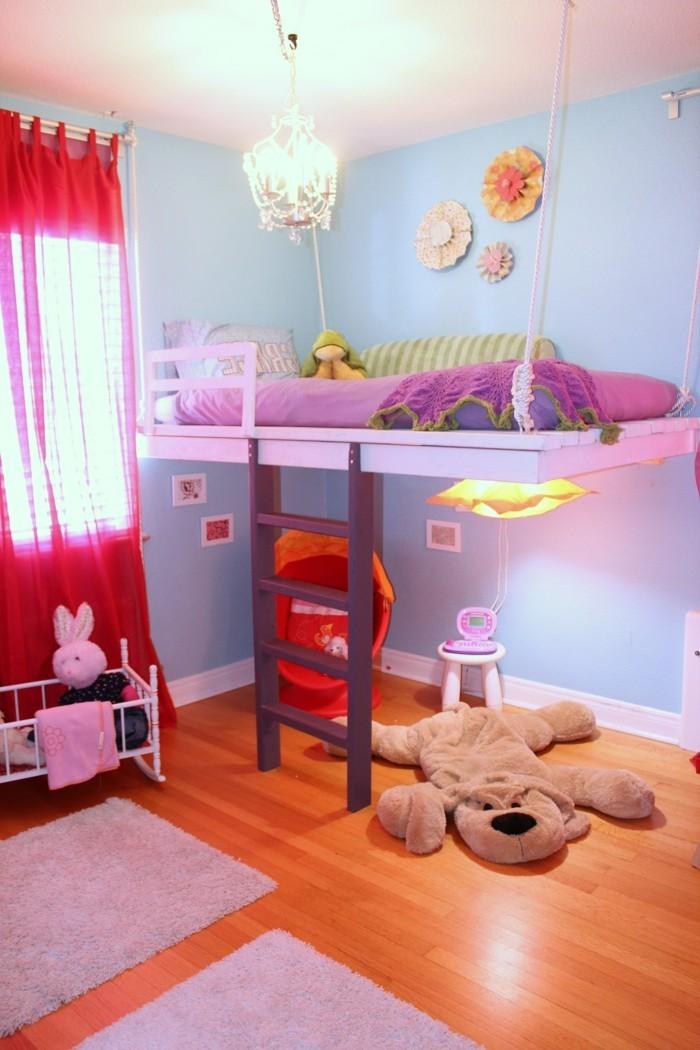 Mädchenzimmer Gestalten Fein On Andere Auf Kinderzimmer Mit Hochbett Einrichten Für Eine Optimale Raumgestaltung 5