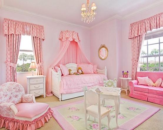 Mädchenzimmer Gestalten Modern On Andere überall Ideen Für Kinderzimmer Einrichtung Kleine Prinzessinnen 4