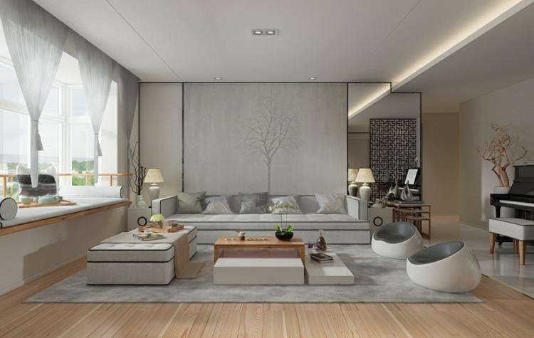 Modern Minimalistisch Wohnen Stilvoll On Auf Www Sieuthigoi Com 1