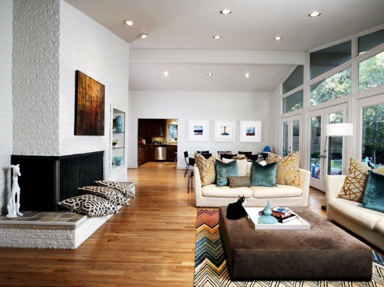 Modern Wohnzimmer Fein On Innerhalb Einrichten 52 Tolle Bilder Und Ideen 4