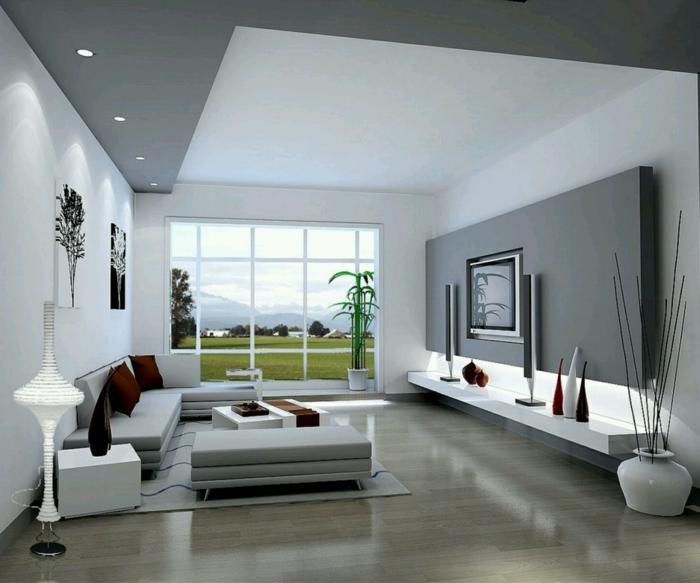 Modern Wohnzimmer Gestalten Erstaunlich On In Bezug Auf Einrichten 59 Beispiele Für Modernes Innendesign 1