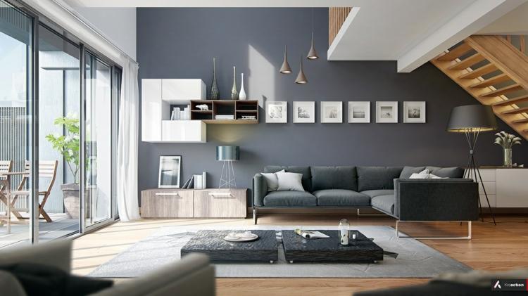 Modern Wohnzimmer Gestalten Herrlich On Und Modernes Einrichten In Den Farben Grau Beige Oder Weiß 9
