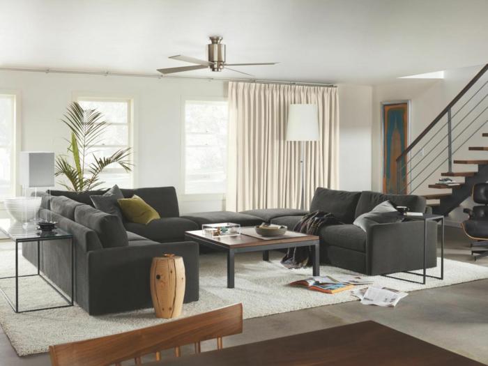Modern Wohnzimmer Gestalten Kreativ On In Bezug Auf Einrichten 59 Beispiele Für Modernes Innendesign 8