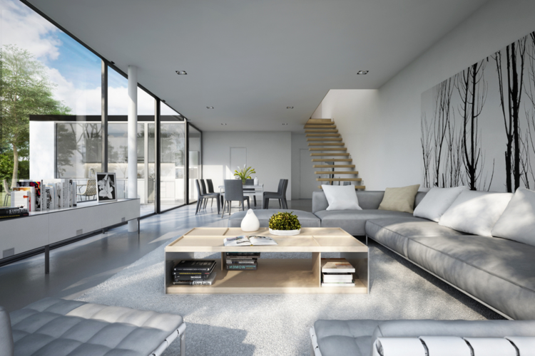 Modern Wohnzimmer Interessant On Für Moderne 24 Interieur Ideen Mit Tollem Design 7