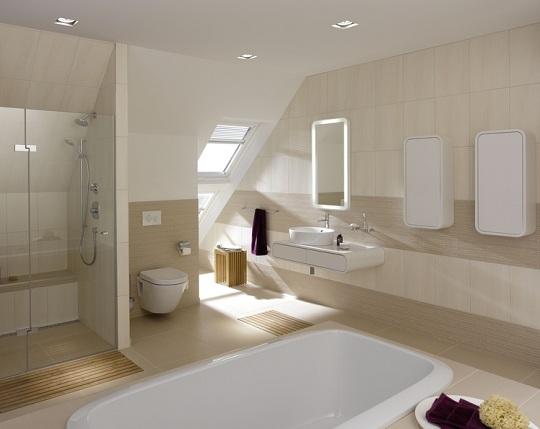 Moderne Bäder Braun Schön On In Bezug Auf Luxus Badezimmer Modern Cool Fliesen Bad Mild 8