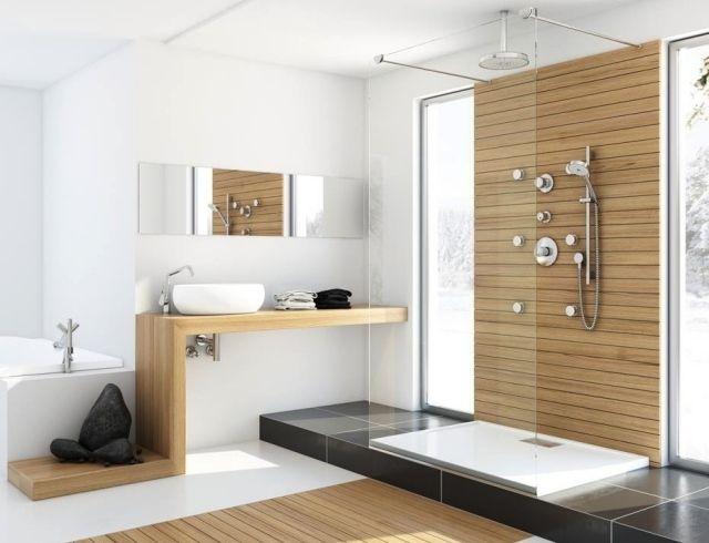 Moderne Bäder Mit Holz Herrlich On Modern In Wohndesign Amüsant Waschtisch Bad Plant Minimal Bathroom 1