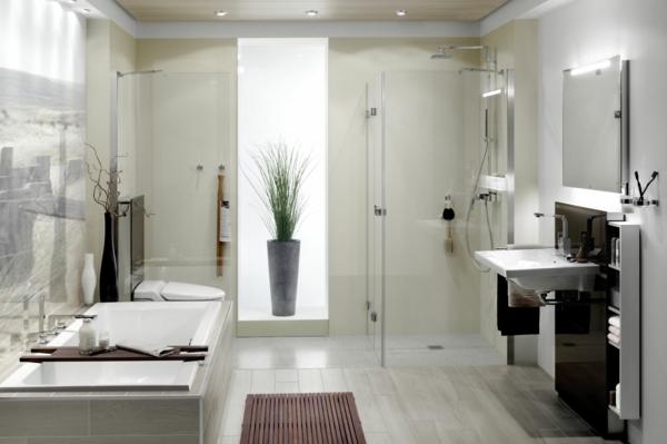 Moderne Badezimmer Mit Dusche Und 2 Erstaunlich On Beabsichtigt Wohndesign Badewanne Ideen Lecker 5
