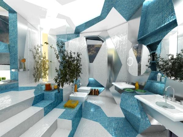 Moderne Badezimmer Türkis Einzigartig On In Bezug Auf Mit Erwachen 50 Wunderschöne Bad Fliesen 4