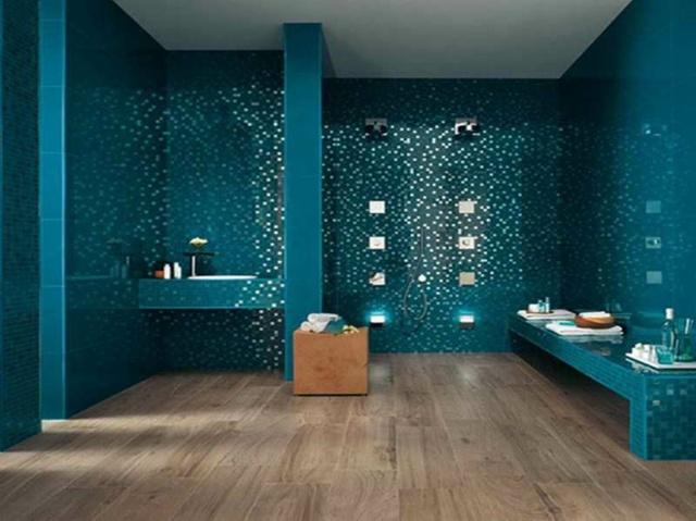 Moderne Badezimmer Türkis Herrlich On Und Amocasio Com 2